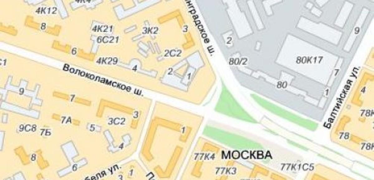 Ленинградский проспект перекроют в ночь