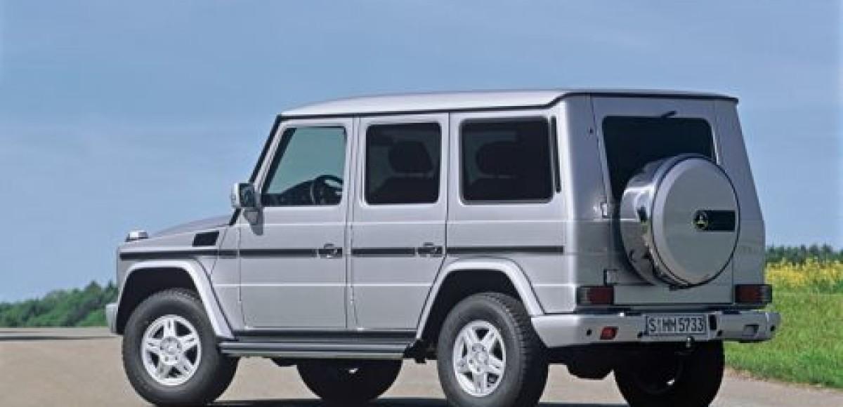 Mercedes G-класса ожидают изменения