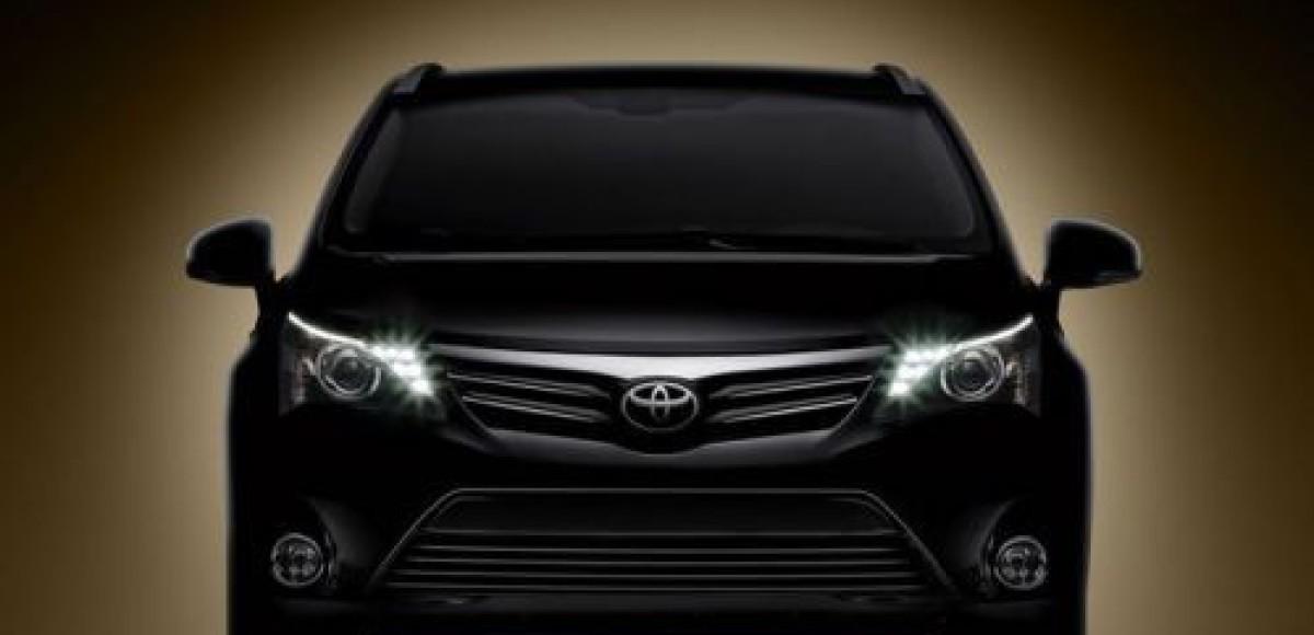 Представительство Toyota в России обнародовало цены на модель Avensis