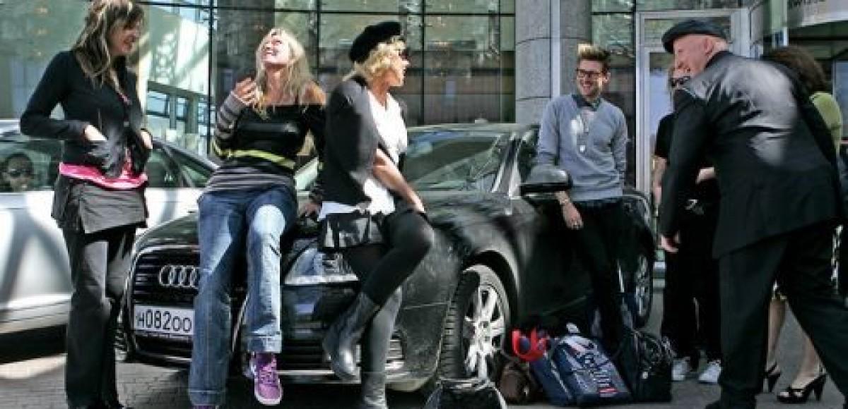 Творческая элита Лондона выбрала Audi