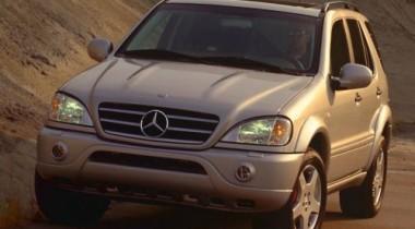 Mercedes-Benz ML 55 AMG. Для сильных духом
