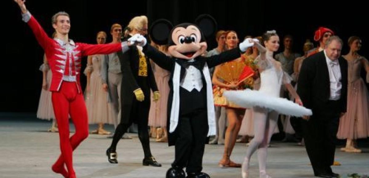 Микки Маус приглашает российских детей в Большой театр