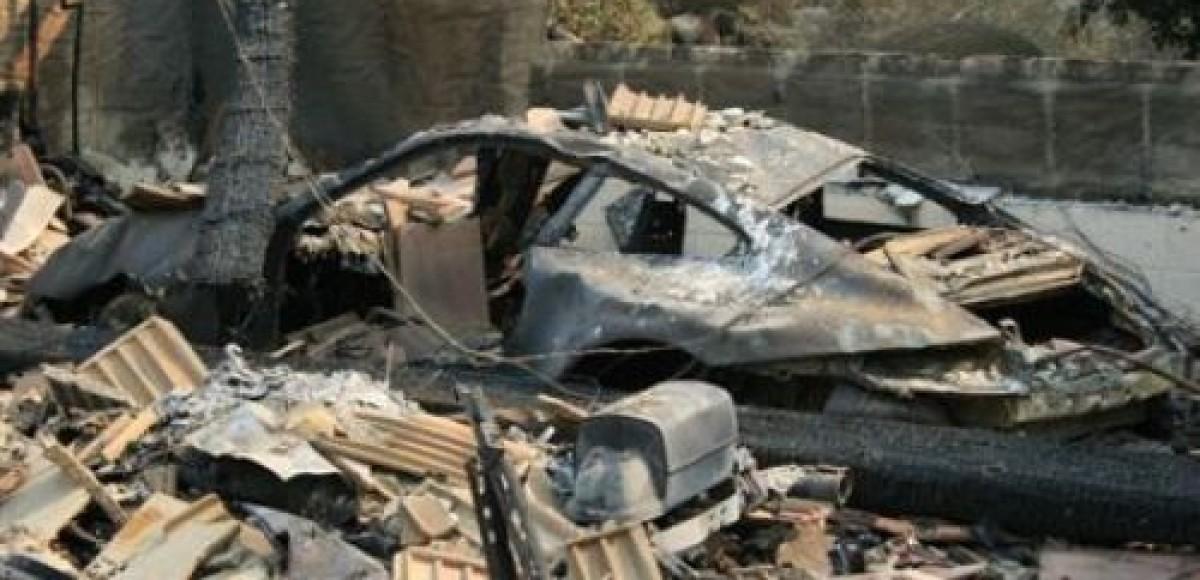 Причина масштабного пожара на саратовской автостоянке установлена