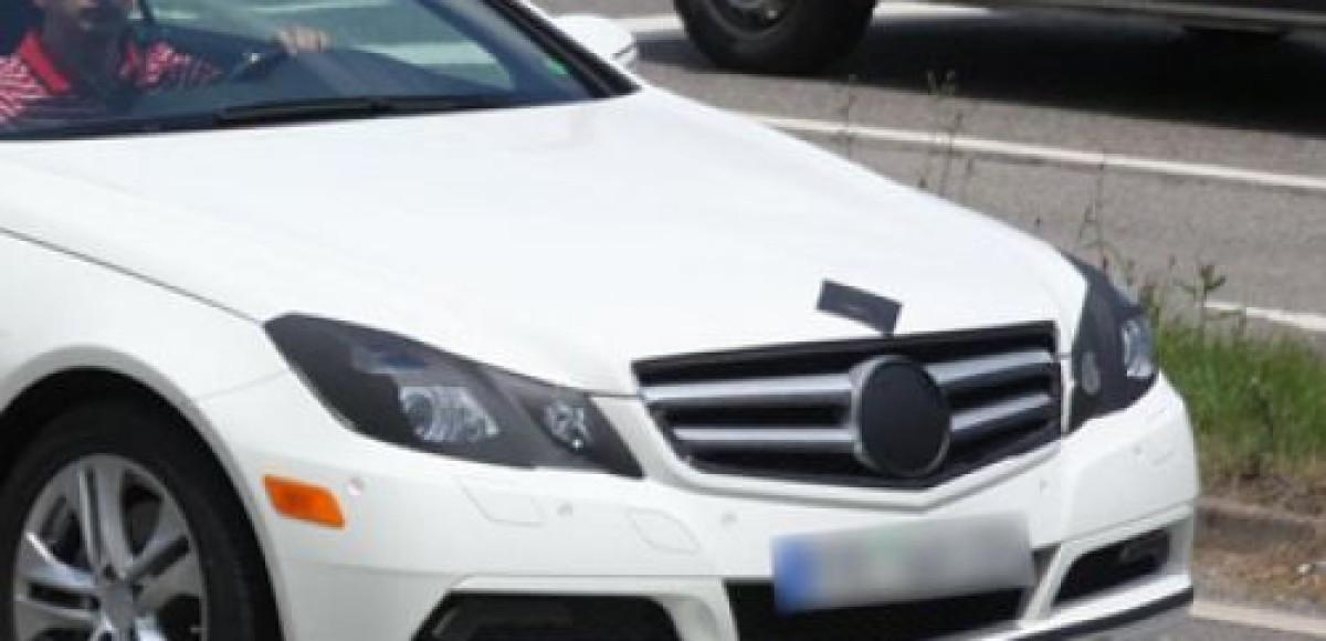 Кабриолет Mercedes-Benz E-class. Шпионские фото