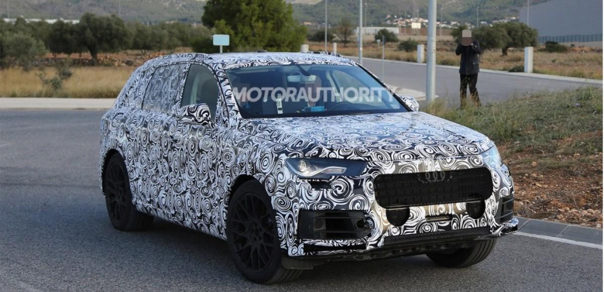Прототип Audi Q7 уже выехал на Нюрбургринг