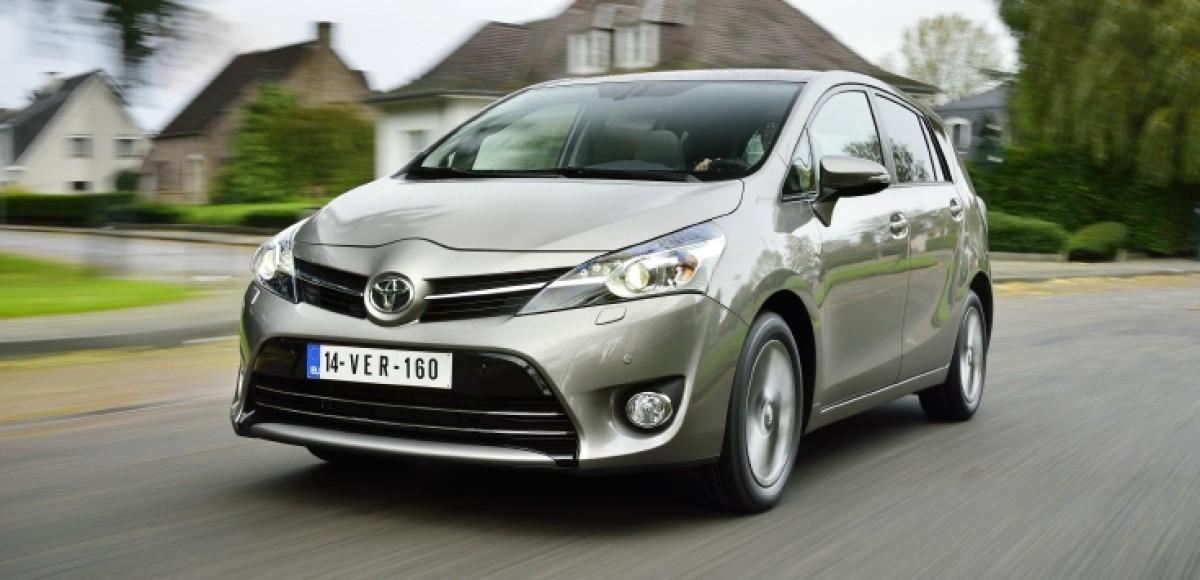Toyota Verso 2014 модельного года появилась у российских дилеров