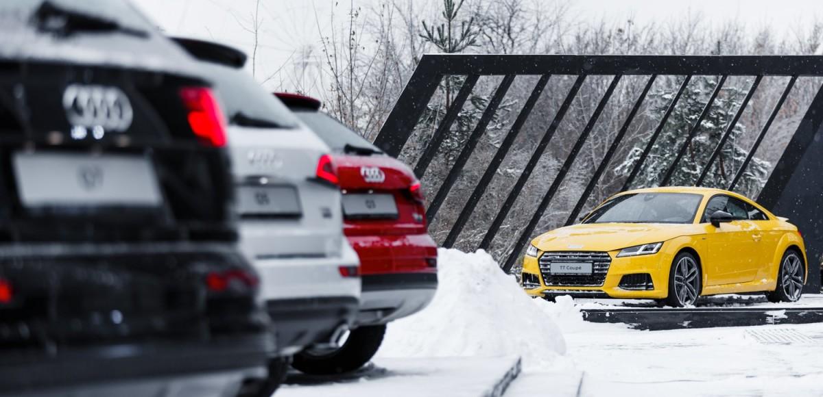 Audi скидывает цены в России