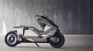 Концепт мототранспорта будущего от BMW