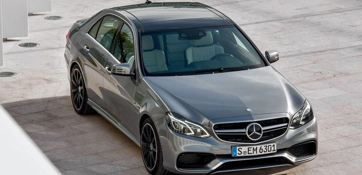Mercedes-Benz E-class. Округлый