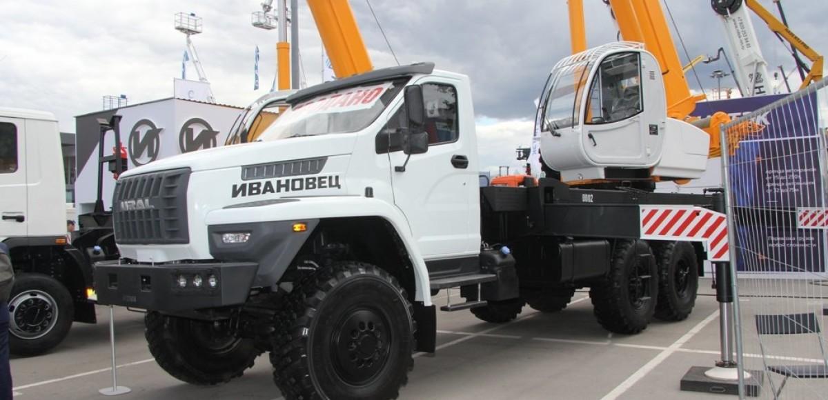 «Ивановец» покажет новые модели автокранов на Bauma CTT Russia