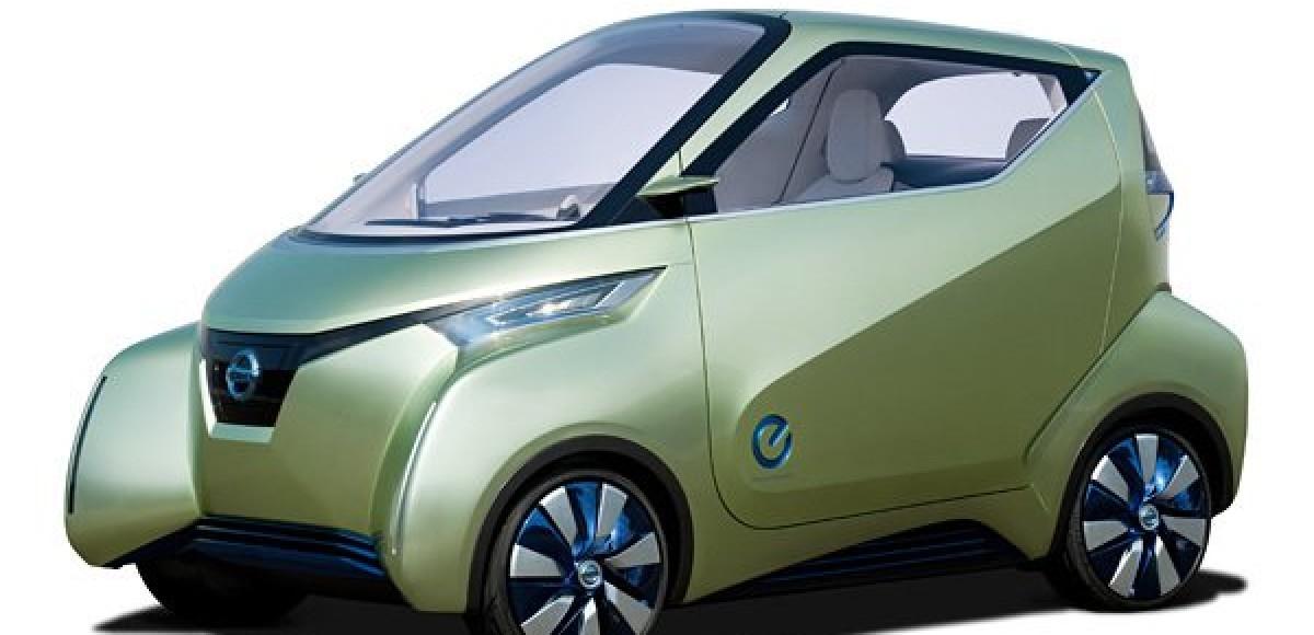 Pivo 3 — «Умный» городской электромобиль ближайшего будущего