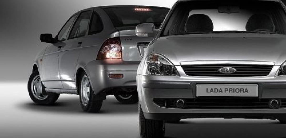 В январе в России отмечается низкий спрос на автомобили Lada