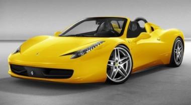 Премьера Ferrari 458 Italia Spider состоится на Франкфуртском автосалоне