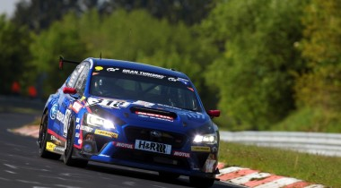 Subaru примет участие в гонке 24 часа Нюрбургринга