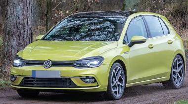 Рассекречен интерьер нового Volkswagen Golf
