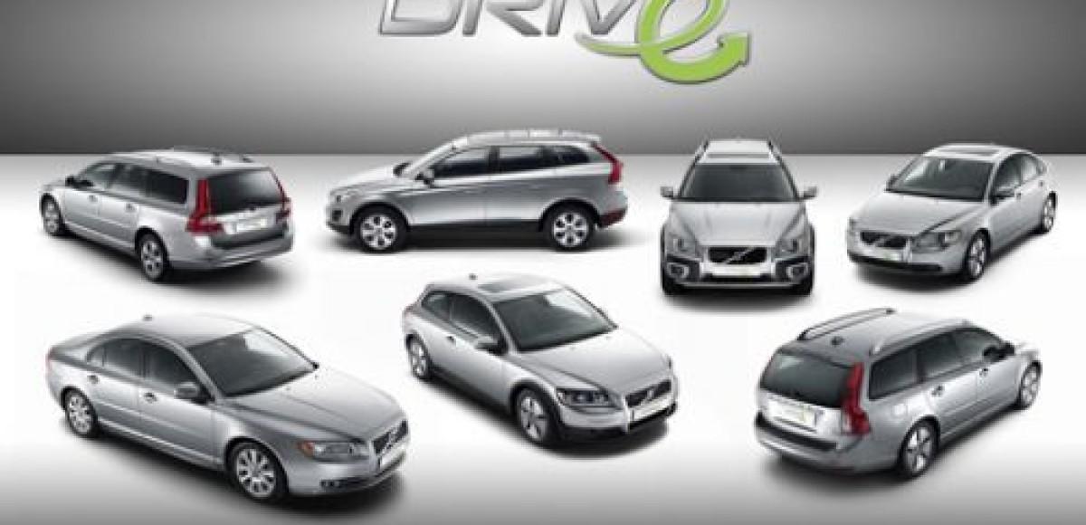 В Женеве Volvo представит семь моделей серии DRIVe