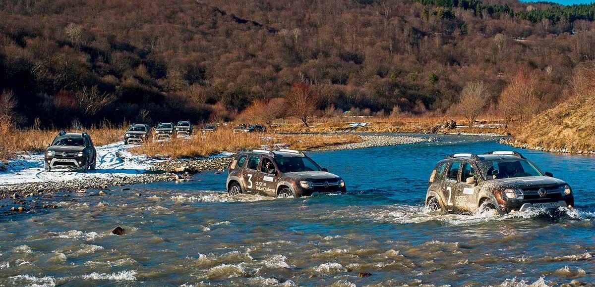 Подвиг разведчика: по Грузии на Renault Duster
