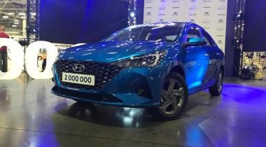 В Питере показали обновлённый Hyundai Solaris