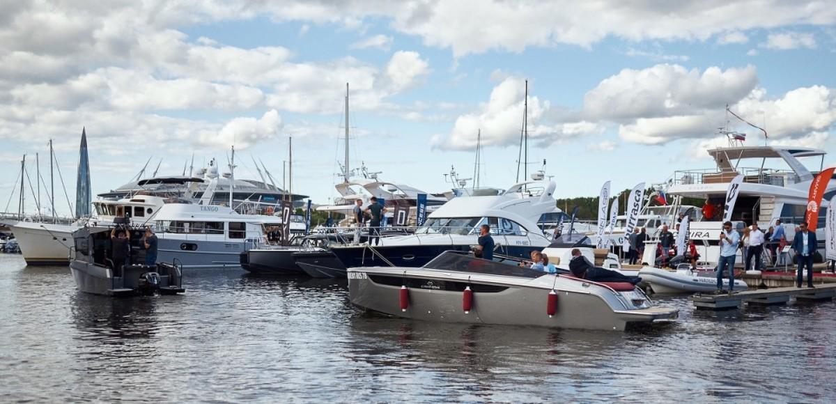 В Питере показали роскошные катера и яхты