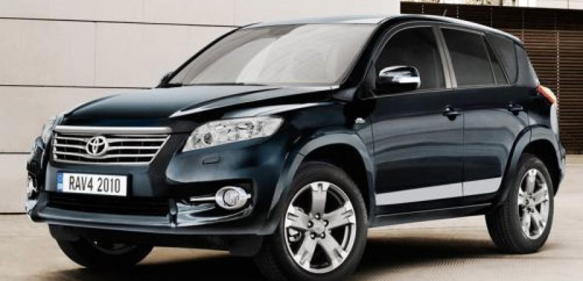 В автоцентрах компании «Инчкейп Олимп» стартовали продажи обновленной Toyota RAV4