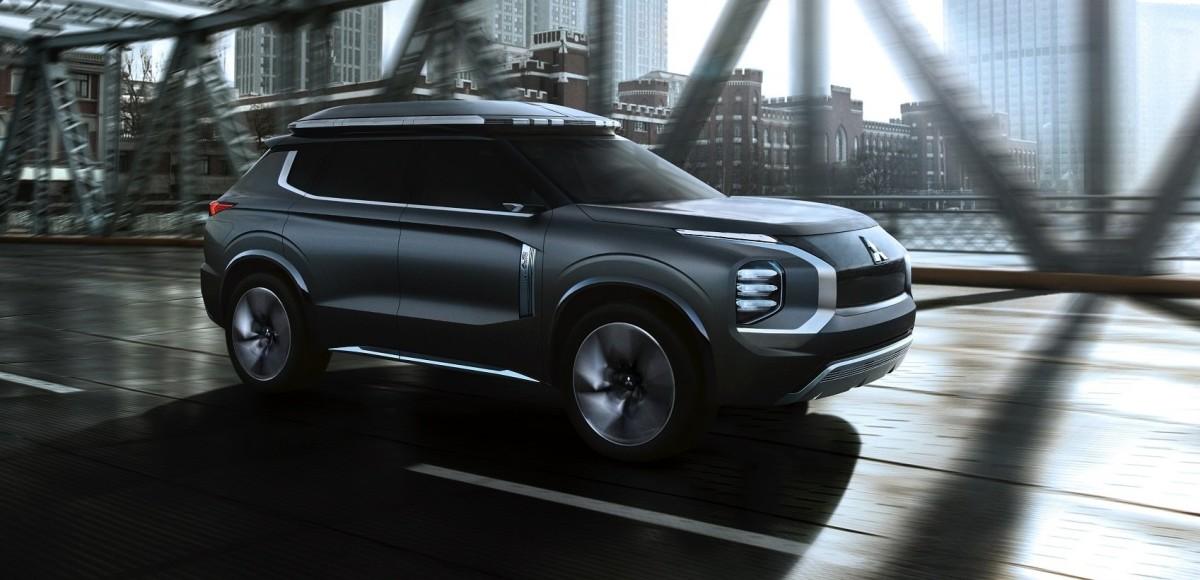 Mitsubishi e-Yi Concept: новый «Аутлендер»?