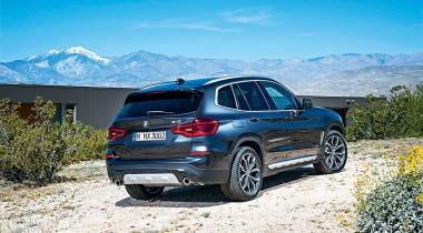 BMW X3. Гладкий я