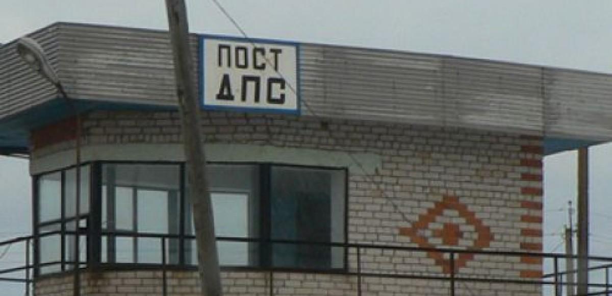 В Подмосковье пост ГИБДД отдан под частное кафе