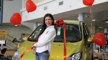 Победитель «Городской феерии» получил в качестве приза автомобиль Ford Fiesta