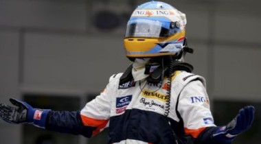 На второй практике Гран-При Бразилии лидировал Фернандо Алонсо!