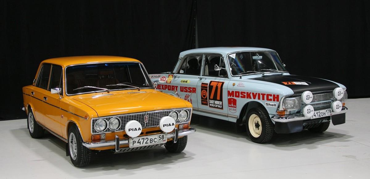 Легендарные раллийные «Жигули» и «Москвичи» на Lahti Classic Motorshow