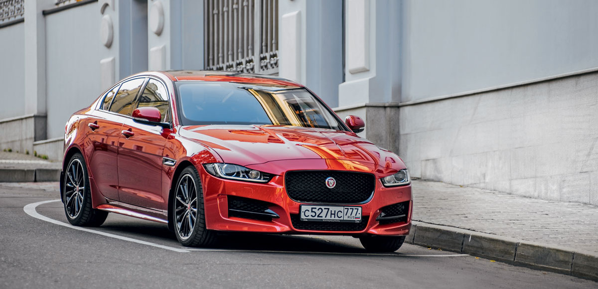 Jaguar XE. Дубль два