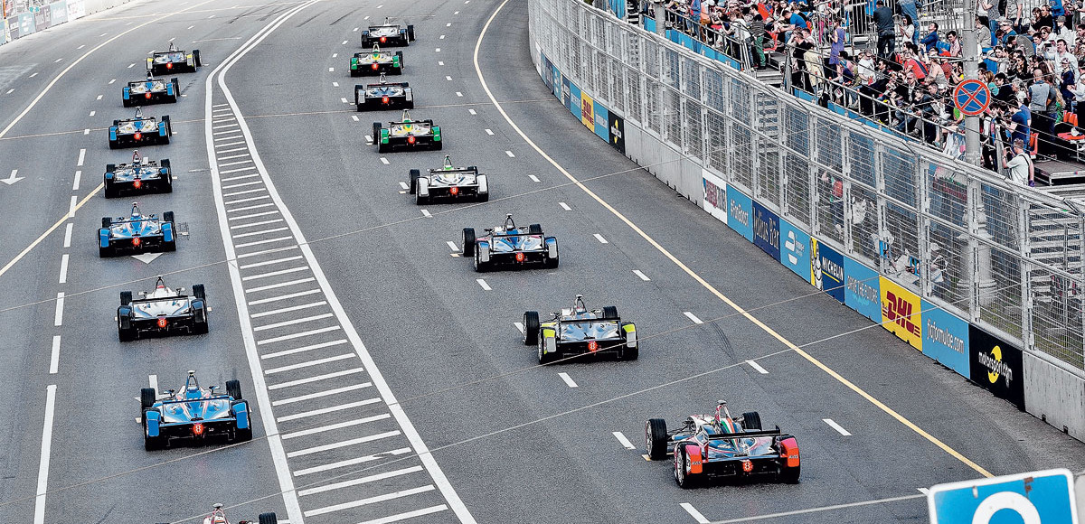Зазеркалье: гонки Formula E в Москве