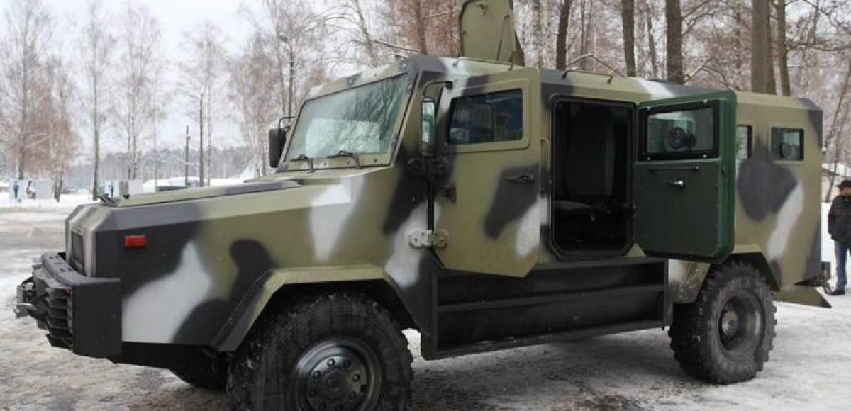«Казак»: новейший броневик украинской армии