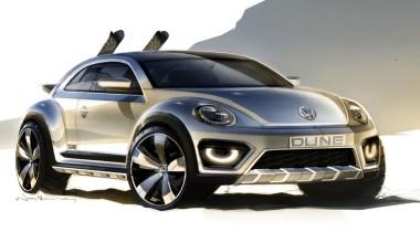 Концепт Volkswagen Beetle Dune дебютирует  в Детройте