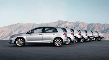 VW Golf отмечает юбилей