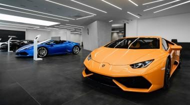 В Москве открылся шоурум Lamborghini Москва Запад
