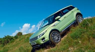 На трассе Range Rover Evoque