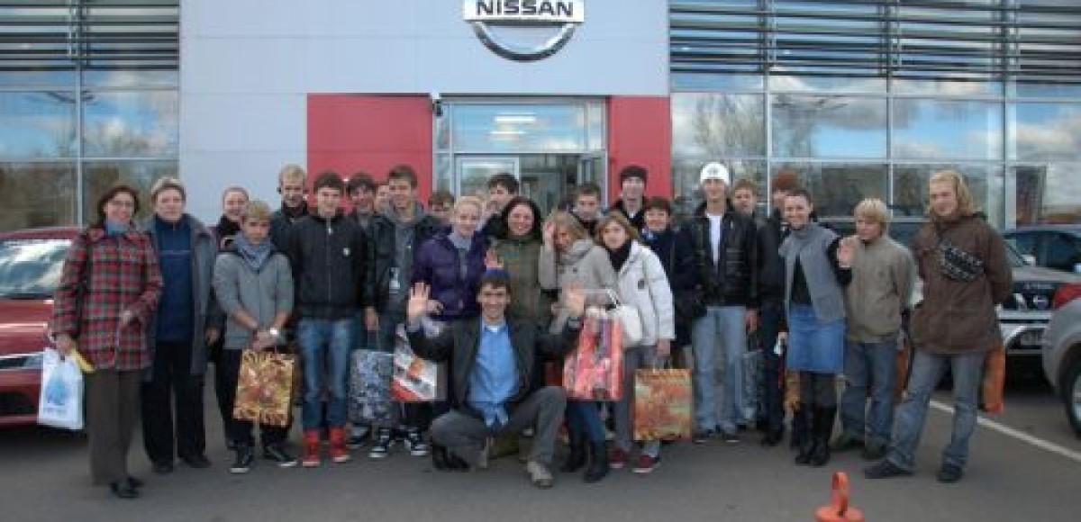 В «АвтоСпецЦентре» состоялась экскурсия для воспитанников детских домов