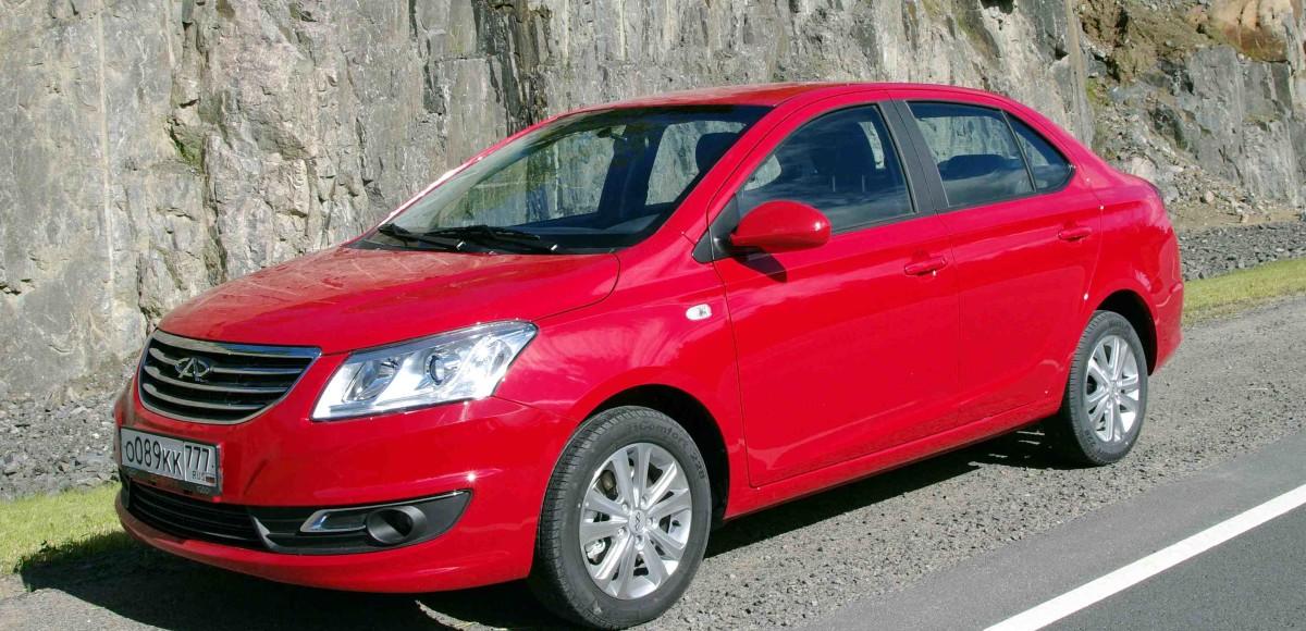 Седан  Chery A19 выходит на российский рынок