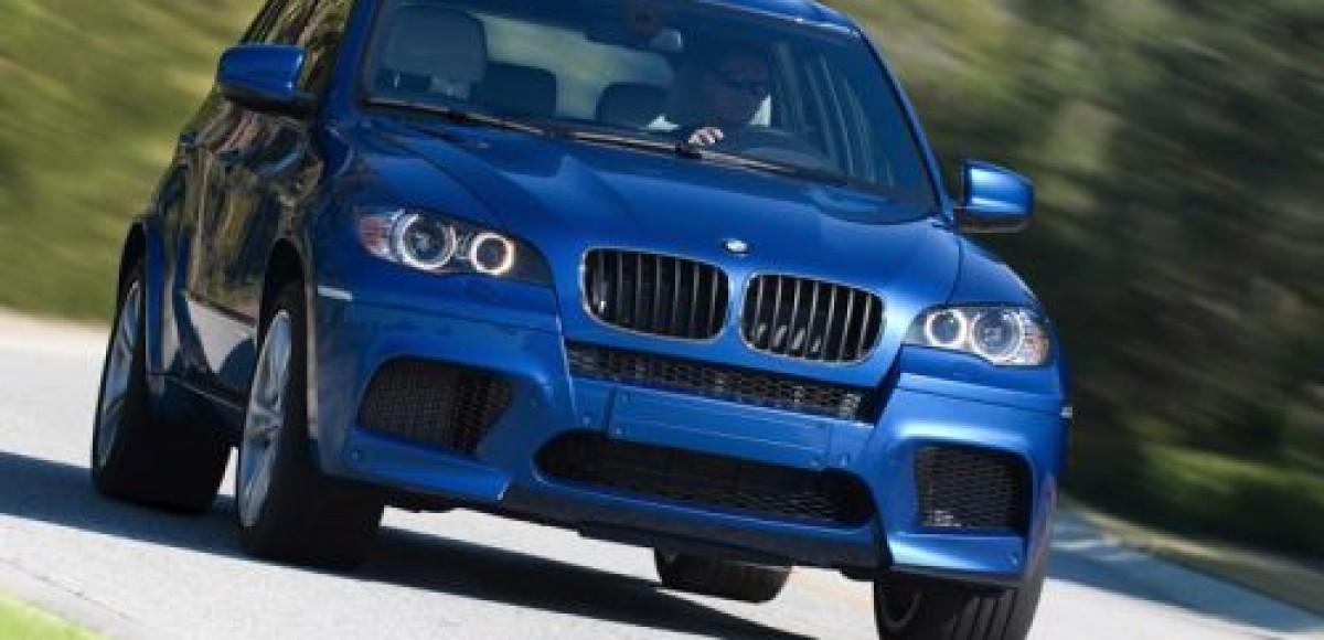 BMW X5 М и BMW X6 М – новый путь к удовольствию за рулем