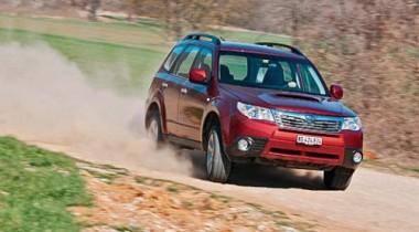 Subaru Forester. Лесниковый период