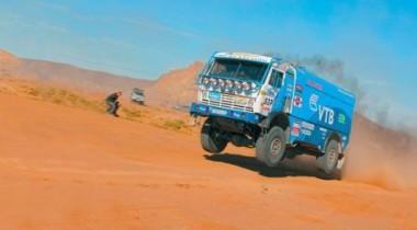 Российский КАМАЗ выиграл этап автомарафона «Дакар»
