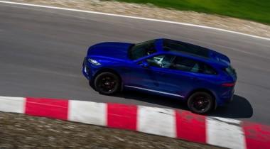 Jaguar F-Pace: российская премьера