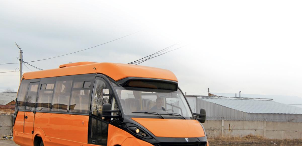 Русская «Лиса»: стильный автобус на итальянском шасси