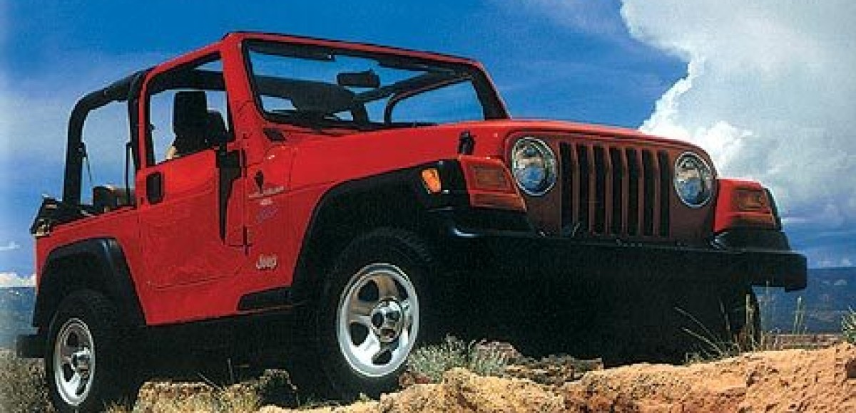 Jeep Wrangler. Военный. Агрессивный. Американский