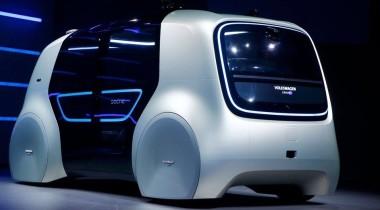 Volkswagen Sedric: беспилотник будущего приехал в Женеву