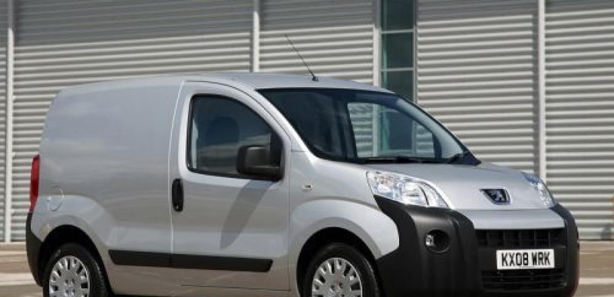 Peugeot Bipper — лучший фургон года