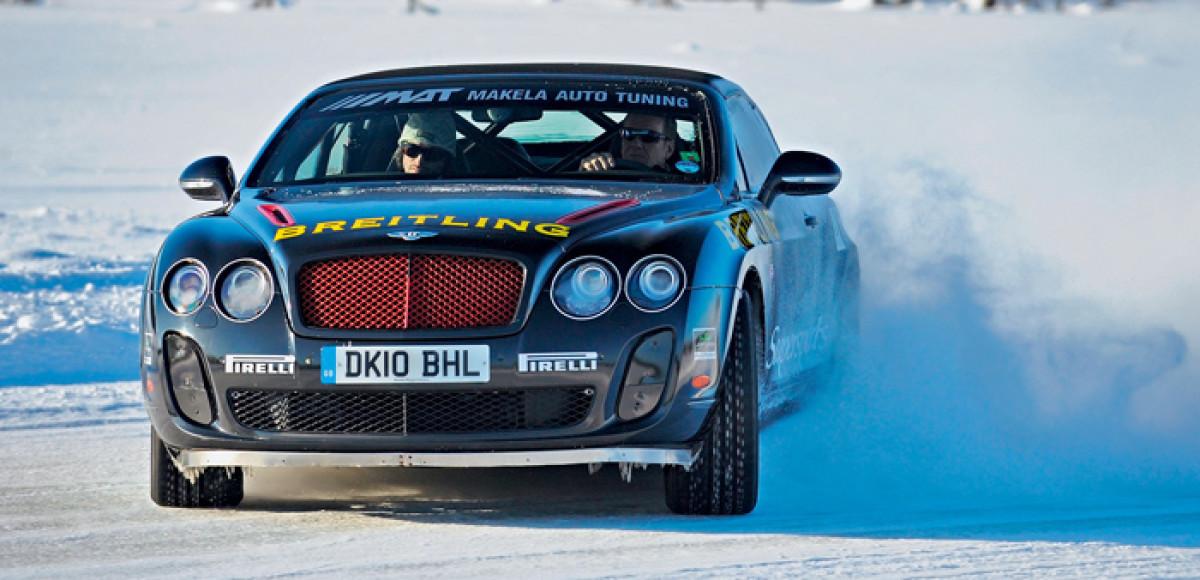 Pirelli Ice Power. Без компромиссов!