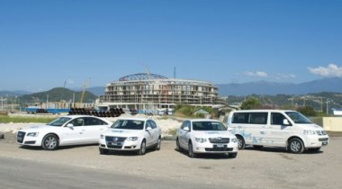 Оргкомитету «Сочи-2014» переданы 13 автомобилей Audi