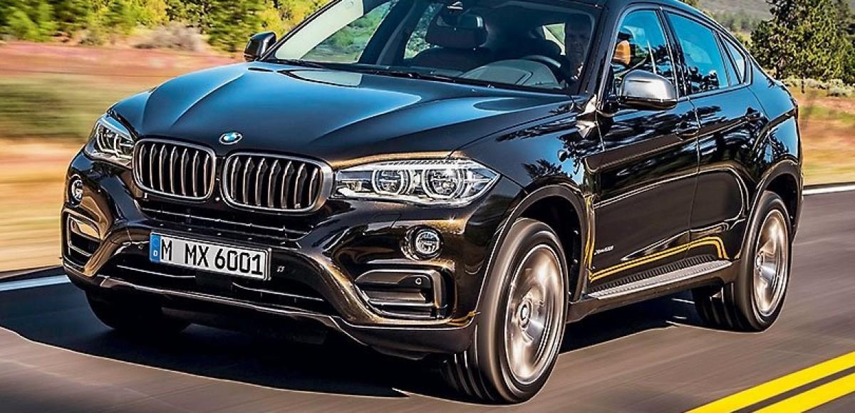 Поздний выход. BMW X6